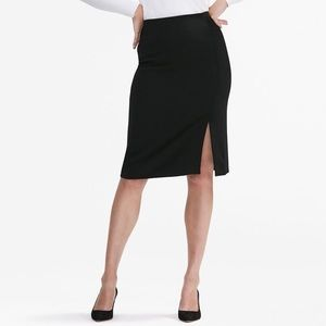 MM LAFLEUR The Mulberry Skirt In Black